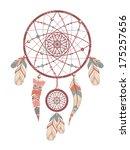 dream catcher. romantic   Shutterstock .eps vector #175257656