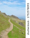 Hiking Trail In Scottish...