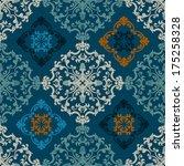 seamless persian vector...   Shutterstock .eps vector #175258328