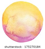 abstract circle watercolor...   Shutterstock . vector #175270184