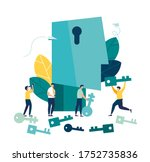 vector illustration  creative... | Shutterstock .eps vector #1752735836