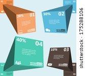 modern 3d infographics for web  ...