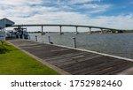 The Goolwa Wharf And The Bridge ...