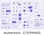 user interface elements for... | Shutterstock .eps vector #1752994403