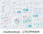 user interface elements for... | Shutterstock .eps vector #1752994409
