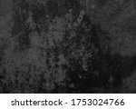 dark black dirty and old... | Shutterstock . vector #1753024766