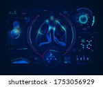 concept of medical technology ... | Shutterstock .eps vector #1753056929
