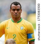 Small photo of Dortmund, GERMANY - June 27, 2006: Cafu looks on during the 2006 FIFA World Cup Germany Brazil v Ghana at Signal Iduna Park.
