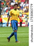 Small photo of Dortmund, GERMANY - June 27, 2006: Ricardo Kaka looks on during the 2006 FIFA World Cup Germany Brazil v Ghana at Signal Iduna Park.