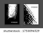 vector brush stroke with...   Shutterstock .eps vector #1753096529