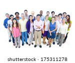 large group of business people | Shutterstock . vector #175311278