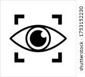 eye icon vector design template ...