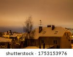 View Of The Roofs Of Houses In...