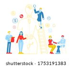 endocrinology  hormone disease...   Shutterstock .eps vector #1753191383