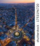 Panoramic View Over Athens By...