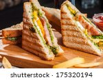 Grilled Sandwiches With Chicke...