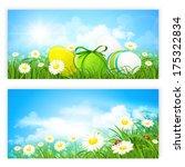 easter banners | Shutterstock .eps vector #175322834
