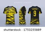 t shirt sport design template ... | Shutterstock .eps vector #1753255889