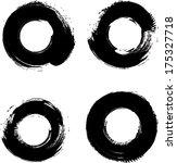 set of grunge stamp  | Shutterstock .eps vector #175327718