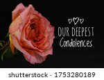 Our Deepest Condolences Card....
