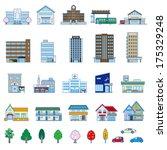 various building | Shutterstock .eps vector #175329248