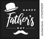 happy father's day vector... | Shutterstock .eps vector #1753293059