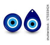 vector illustration of evil eye ...