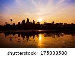 Sunrise In Angkor Wat