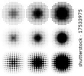 spotted halftone vector | Shutterstock .eps vector #17533975