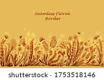background with seamless border ... | Shutterstock .eps vector #1753518146