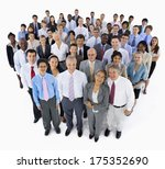 large group of business people | Shutterstock . vector #175352690