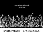 background with seamless border ... | Shutterstock .eps vector #1753535366
