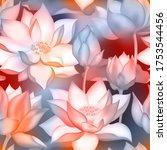 Lotus Buds And Flowers Seamless ...