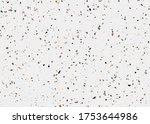 terrazzo backgrund vector.... | Shutterstock .eps vector #1753644986