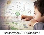 concept of fantasy and... | Shutterstock . vector #175365890