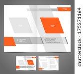 brochure design booklet... | Shutterstock .eps vector #175371164