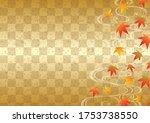beautiful japanese pattern...   Shutterstock .eps vector #1753738550