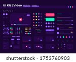video ui elements kit. search...
