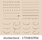 this is handwriting decoration... | Shutterstock .eps vector #1753832906