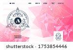 monogram  perfect font online... | Shutterstock .eps vector #1753854446