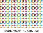 candy lollipop wallpaper... | Shutterstock . vector #175387250