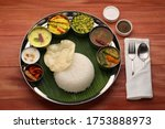 South Indian Veg Thali Meals...