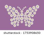 Butterfly Daisy Flower Free...