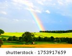 Huge Strong Rainbow Over The...