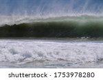 Powerful  Crashing Wave With...