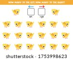 how many chickens go to the... | Shutterstock .eps vector #1753998623