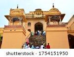 Amer  Jaipur  Rajasthan  India...