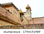 Detail Of The Mughal Fortress ...