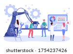 email marketing campaign... | Shutterstock .eps vector #1754237426