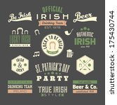 arrow,background,beer,black,celebration,chalkboard,clover,cool,day,design,element,graphics,green,happy,hip